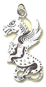 【送料無料】アクセサリー ネックレス ドラゴンペンダントケルトスターリングbeltane drago celtico pendente charm nascita con catenaargento sterling bc06