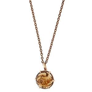 【送料無料】アクセサリー ネックレス メタルネックレスブラウンピンクゴールドguess donna collana metallo marroneoro rosa ubn80909