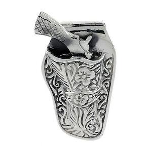 【送料無料】アクセサリー ネックレス リボルバーサポートペンダントネックレスargento sterling movibile revolver wsupporto ciondolociondolo,18 italiano