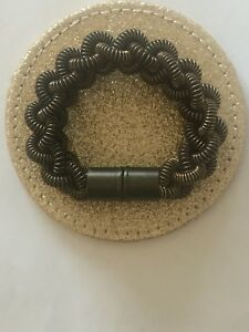 【送料無料】アクセサリー ネックレス ロンドンロープデザインブレスレットleju di londra trama grossa marrone rame intrecciato corda design bracciale, nuovo