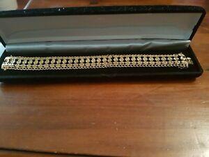 【送料無料】アクセサリー ネックレス ビンテージカフカラーゴールドvintage bracciale decrative color oro