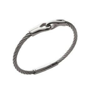 【送料無料】アクセサリー ネックレス ブレスレットkbc bracelet mixte jonc cble acier inoxydable cordage entrelac
