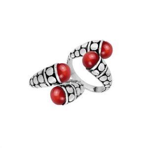 【送料無料】アクセサリー ネックレス スターリングリゾーツスターリングコーラルシルバーリングargento sterling anello con corallo ar6170cr6