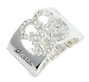 【送料無料】アクセサリー ネックレス リングguess donna dito anello argento ubr80913