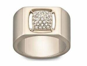 【送料無料】アクセサリー ネックレス スワロフスキーリングピンクゴールドpennino swarovski tattica anello oro rosa misura 52 6 55 7 58 8 60 9