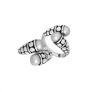 【送料無料】アクセサリー ネックレス リングスターリングシルバーホワイトパールanello argento sterling con perla bianca ar6170pe8