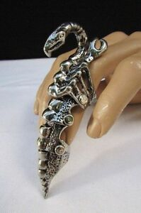 【送料無料】アクセサリー ネックレス リングnuova uomo donna unghie anello rusry metallo argento lunga importante una
