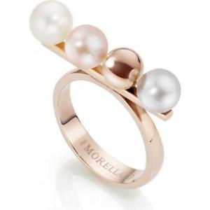 【送料無料】アクセサリー ネックレス リングサイズanello donna morellato lunae sadx05016 acciaio ros perle misura 16 lady