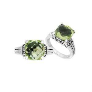 【送料無料】アクセサリー ネックレス リングスターリングシルバーグリーンクォーツアメジストanello argento sterling con verde quarzo ametista ar9005gam9
