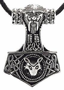 【送料無料】アクセサリー ネックレス シルバーネックレスストラップバイキングハンマーmartello di thor argento 925 ciondolo cinturino vichingo mjlnir 143