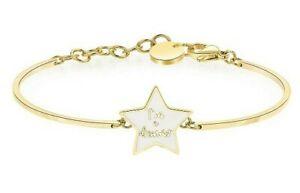 【送料無料】アクセサリー ネックレス カフスチールゴールドスターbracciale brosway chakra acciaio 316l bhk323 stella ゴールド