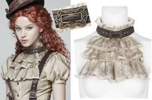 【送料無料】アクセサリー ネックレス ロリcol jabot collier steampunk gothique lolita victorien dentelle boucle punkrave b