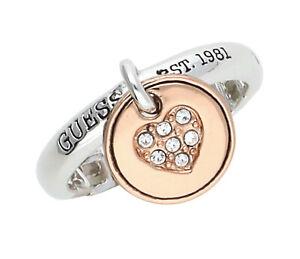 【送料無料】アクセサリー ネックレス リングシルバーゴールドピンクguess donna dito anello argentooro rosa ubr81109
