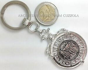 【送料無料】アクセサリー ネックレス キーチェーンプロフェッショナルportachiavi argento monete idea regalo laurea comunione cresima professionista