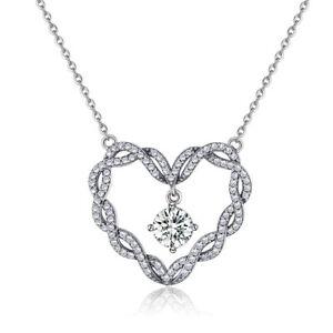 【送料無料】アクセサリー ネックレス ペンダントネックレススターリングシルバーciondolo collana argento sterling 925 a spirale cuore