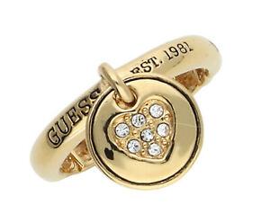【送料無料】アクセサリー ネックレス リングゴールドguess donna dito anello oro ubr81108