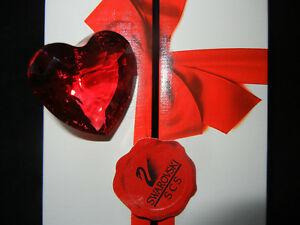 【送料無料】アクセサリー ネックレス スワロフスキークリスタルパッケージcristallo swarovski cuore scs rossocon imballaggio originale