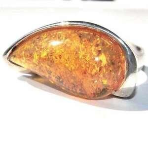 【送料無料】アクセサリー ネックレス モダンアルジェントマッシフアンブルリングbague moderne argent massif 925 ambre t 54 bijou ring