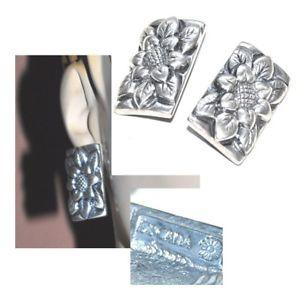 【送料無料】アクセサリー ネックレス クリップアルジェントイヤリングescada boucles doreilles clips plaqu argent fleur bijou earring
