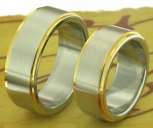 【送料無料】アクセサリー ネックレス リング2 bicolore anelli fedi nuziali di fidanzamento con incisione