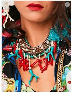 【送料無料】アクセサリー ネックレス コリアーターコイズトルコcollier turquoise antica sartoria