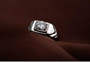 【送料無料】アクセサリー ネックレス プレステージホワイトゴールドリングkゴールドクリスタルクリスマスuomo di prestigio anello oro bianco 18k dorati cristallo idea regalo natale