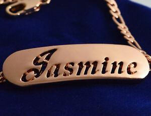 送料無料 アクセサリー ネックレス ジャスミンjasminenome in un braccialeplaccato argento18ct placcato ororegali per leiDWH2I9YE