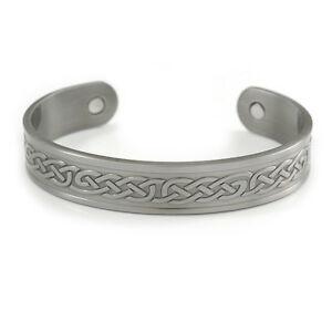 【送料無料】アクセサリー ネックレス セルティックカフブレスレットuomini donne motivo celtico rame polsino braccialetto magnetico con due magneti in pewte
