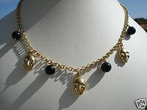 【送料無料】アクセサリー ネックレス ボーコリアービンテージプラークパテbeau collier vintage en plaque orpate de verremasque