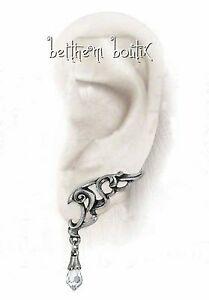 【送料無料】アクセサリー ネックレス ゴスロックブランgoth alchemy boucles d oreille elfique goutte blanc wings of eternity gothique