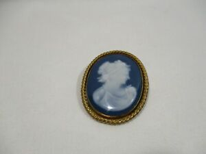 【送料無料】アクセサリー ネックレス リモージュピンancienne broche medaillon oval porcelaine barbotine f m limoges alte old pin
