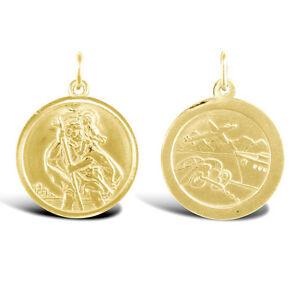 激安価格の 【送料無料】ネックレス イエローゴールドセントクリストファーメダイヨンペンダント9ct yellow gold st traveller gold christopher traveller medallion yellow pendant:hokushin, 2018新入荷:4b604887 --- daftarfoodizz.id
