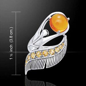 【送料無料】ネックレス ピーターストーンスターリングシルバーリングdancing lotus gemstone 925 sterling silver ring by peter stone