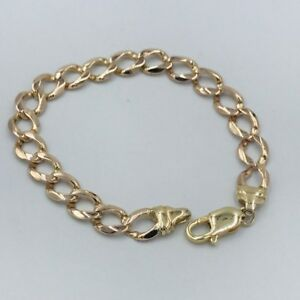 限定価格セール! 【送料無料】ネックレス レディースレディースイエローゴールドチェーンブレスレット#quality ladies womens 9ct yellow gold curb chain bracelet 374, SHOETIME 43dbaac1
