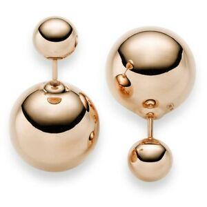 贅沢屋の 【送料無料 in】ネックレス イヤリングスタッドローズゴールドイヤリングearrings gold studs with 585 ball 7,5mm amp; 16mm earrings in 585 gold rose gold, アトラスダイレクトショップ:fd8c234a --- newplan.com