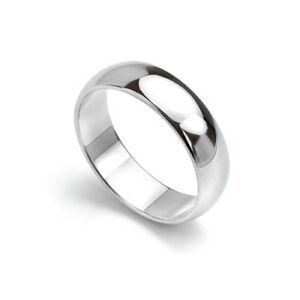 【送料無料】ネックレス パラジウムプロファイルヘビーウェイトpalladium 950 wedding ring d profile heavy weight