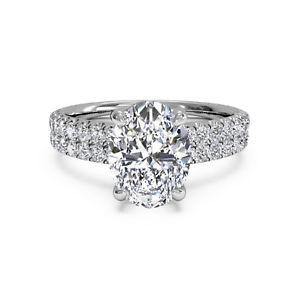 【送料無料】ネックレス ソリッドkホワイトゴールドreal 160ct moissanite wedding rings solid 14k white gold engagement rings