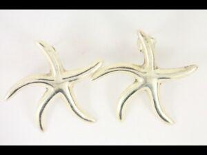 送料無料 ネックレス ヒトデピアスイヤリングスターリングブドウ925 69gcw31star fish stud earrings vintage SALE ladies 925 69g sterling silver 商品 cw31