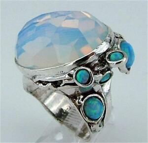 【】ネックレス ハダルデザイナースターリングシルバーオパールリングハンドメイドhadar designers 925 sterling silver opalit opal ring 6,7,8,9,10 handmade h 102b:hokushin