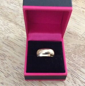 【送料無料】ネックレス ビンテージソリッドゴールドサイズvintage solid 9ct gold wedding ring size approx mn hallmarked