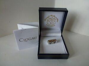 【送料無料】ネックレス ウェールズゴールドシルバーローズライフクリップビーズゴールドツリーclogau welsh gold, silver amp; 9ct rose gold tree of life clip bead charm