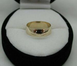 【送料無料】ネックレス ゴールド9ct gold plain wedding ring
