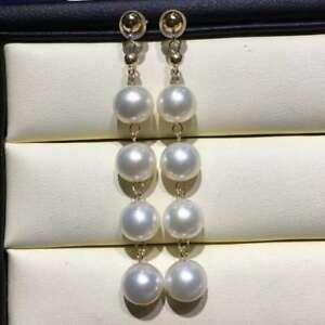【送料無料】ネックレス genuine 78mm aaaperfectakoyaイアリング14kgoldgenuine 78mm aaa perfect natural white akoya pearl earrings 14k solid gold