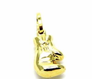 【送料無料】ネックレス イエローゴールドペンダントグローブグローブパンチバッグyellow gold pendant 18kt 7501000 small glove glove punching bag