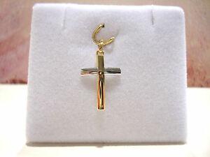 【送料無料】ネックレス ペンダントクロスゴールドグラムpendant cross 2 golds 18k 750000 060 gr