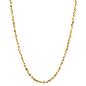 【送料無料】ネックレス インチゴールドアンカーソリッドイエローゴールドチェーン08 mm 16,5 inch 750 gold anchor chain around 18k solid yellow gold highquality