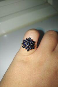 送料無料 ネックレス ゴールドサファイアリング9ct ring sapphire gold 日本製 アウトレット☆送料無料