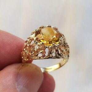 【送料無料】ネックレス サイズstunning 9ct gold signet ring size o