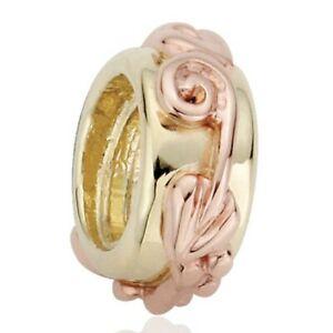 【送料無料】ネックレス ライフイエローローズゴールドビーズツリーclogau tree of life 9ct yellow and rose gold bead charm