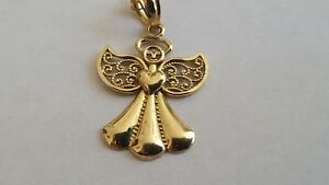 <title>送料無料 ネックレス ゴールドエンジェルペンダントチェーンlovely 9ct 限定品 gold angel pendant amp; chain</title>